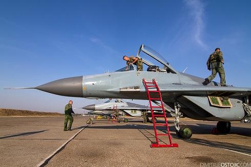 МИГ-29 из России прибудут в Сербию весной