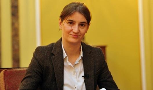 Ана Брнабич призвала укрепить связи с Россией