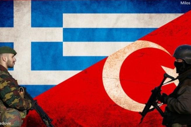 Гибридная война Турции и Греции