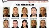 Арестованные члены Ндрангеты