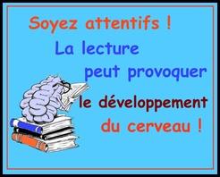La lecture peut provoquer le développement du cerveau !