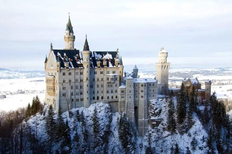 нойшванштайн замок бавария