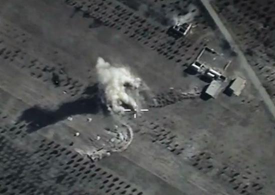 Luftangriff Syrien 111015