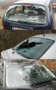 80 Autos wurden im Umfeld von Ammerers Demonstration beschädigt.