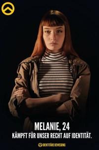 Melanie, Identitäre Bewegung