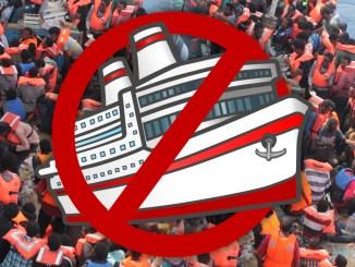 NGO-Schlepperschiffe stoppen