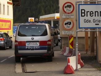 Brenner Grenzübergang