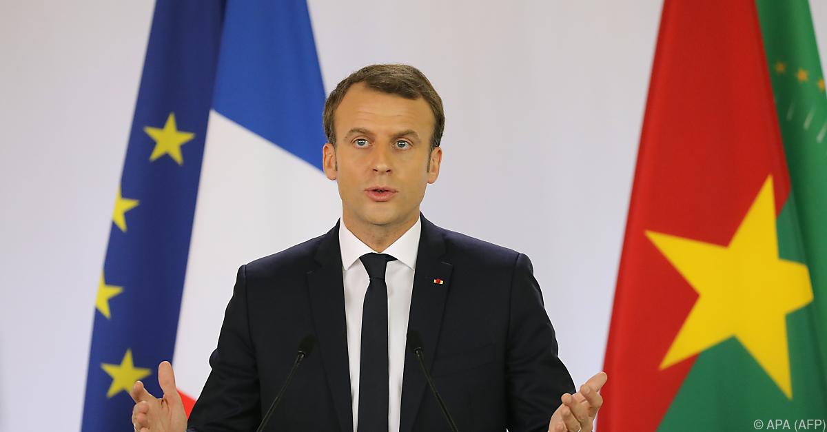 Macron nennt Kolonialverbrechen in Afrika