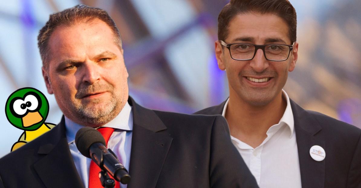 Willi Mernyi, Efgani Dönmez, Info-DIREKT