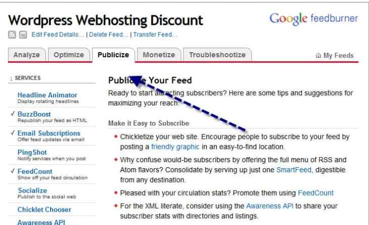 Как настроить RSS канал для WordPress