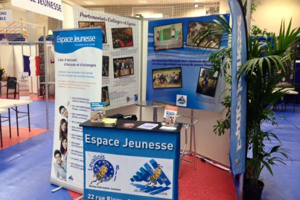 Stand lors du Forum des associations
