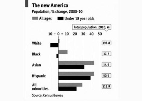 Белые в США
