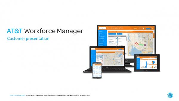Sales Landing Page  ATT Workforce Manager