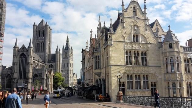 Altstadtszene Gent