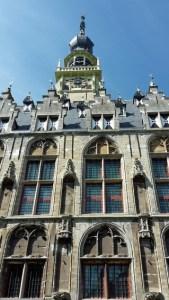 Rathaus von Veere Ausschnitt mit Turm
