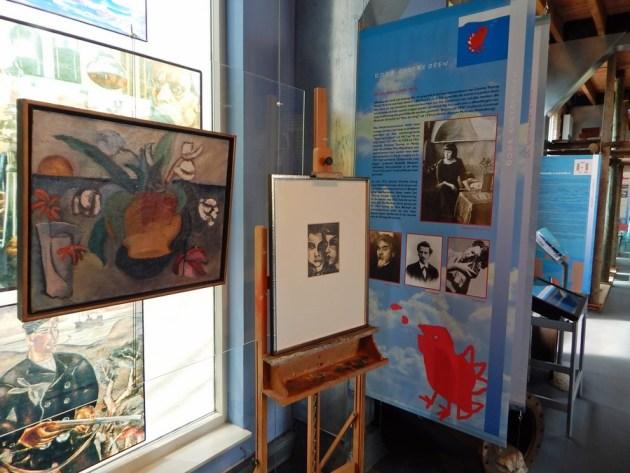 Ausstellung zu Charley Toroop im Polderhuis Westkapelle
