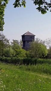 "Wehrturm einer ""Motteburg"" im Naturmuseum Terra Maris in Oostkapelle"
