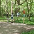 Zwei Wanderweg führen durch das Naturschutzgebiet de Manteling bei Oostkapelle