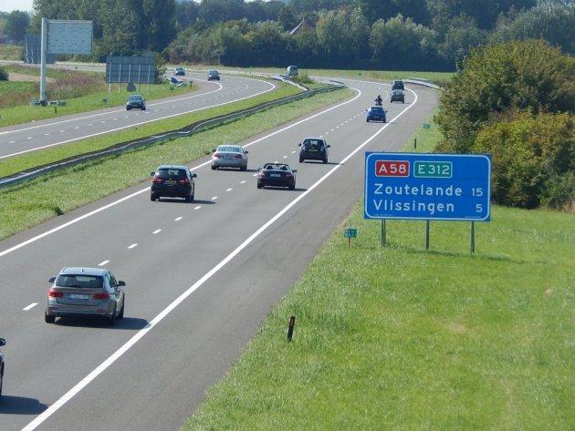 Autobahn A58 bei Middelburg