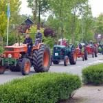 Traktorparade in Gapinge