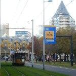 Straßenbahn in Rotterdam