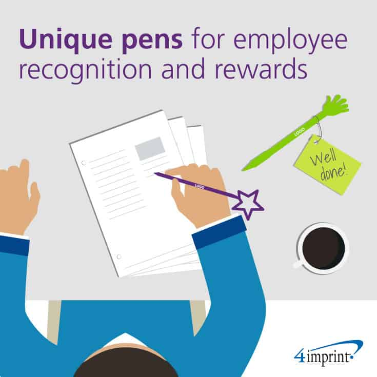 Unique pens make nice employee recognition gifts