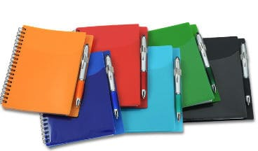 Sorbet Pocket Notebook with Curvy Stylus Pen l 125649 l Promotional Products from 4imprint
