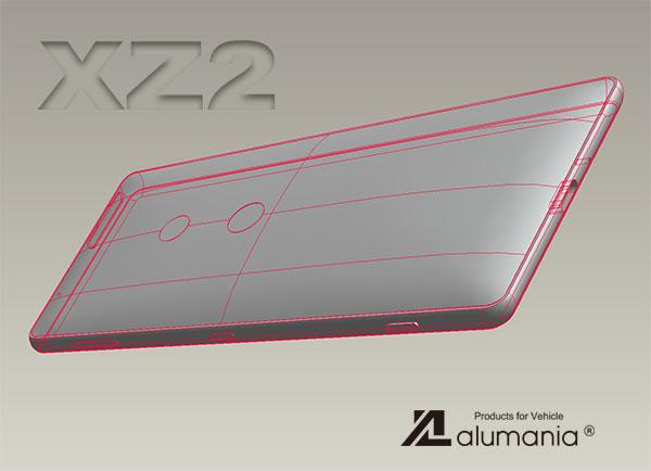 XZ2本体形状の取り込み