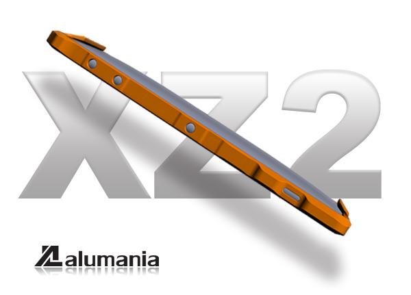 背面にガードを追加したXZ2バンパーデザイン