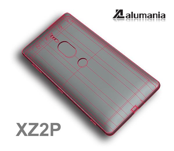 XZ2PREMIUMの本体形状