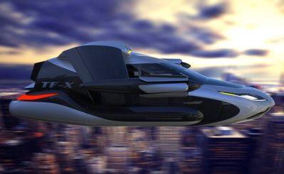 как тестировали летающий автомобиль