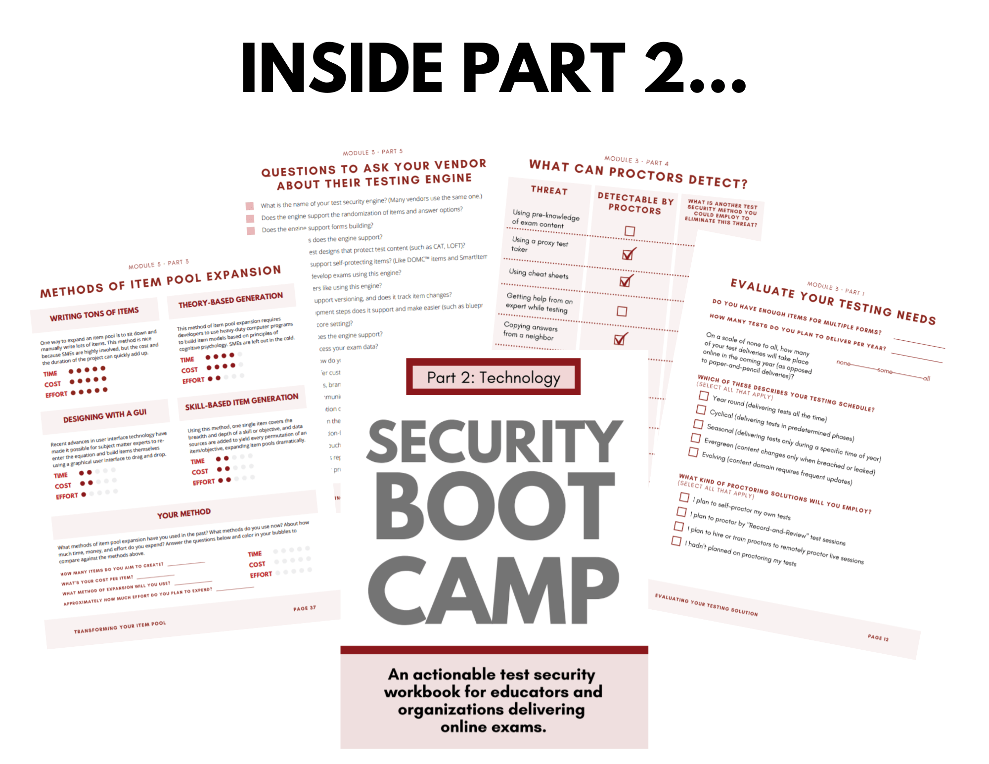 Security Boot Camp Part 2 Technology