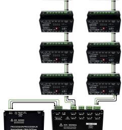 dmx amplifier wiring example [ 829 x 1191 Pixel ]