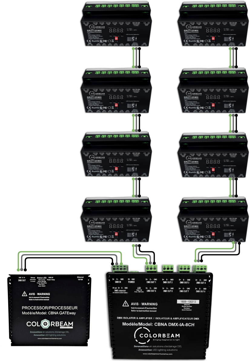 hight resolution of dmx amplifier wiring example