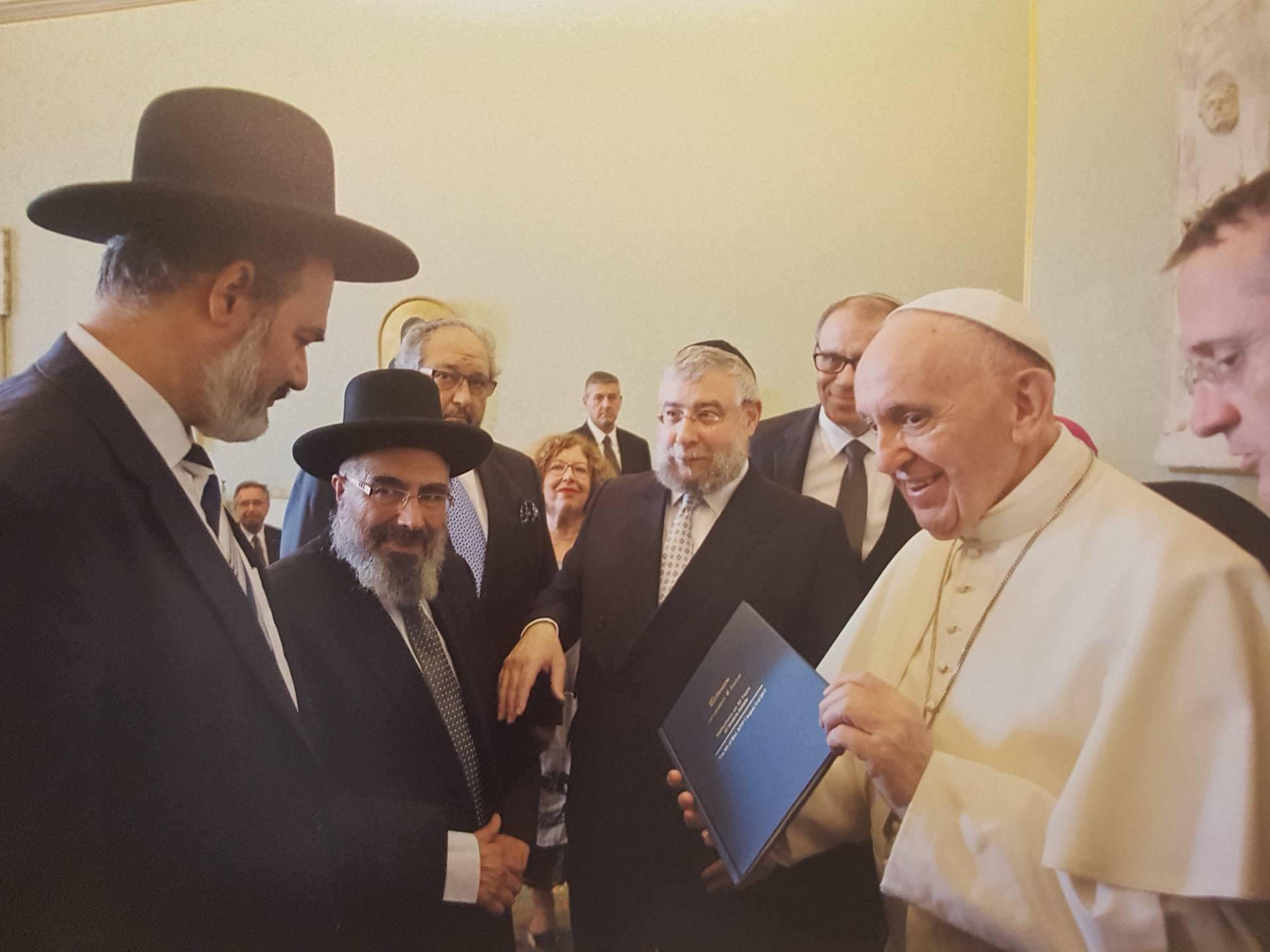 Rabínská delegace ve Vatikánu