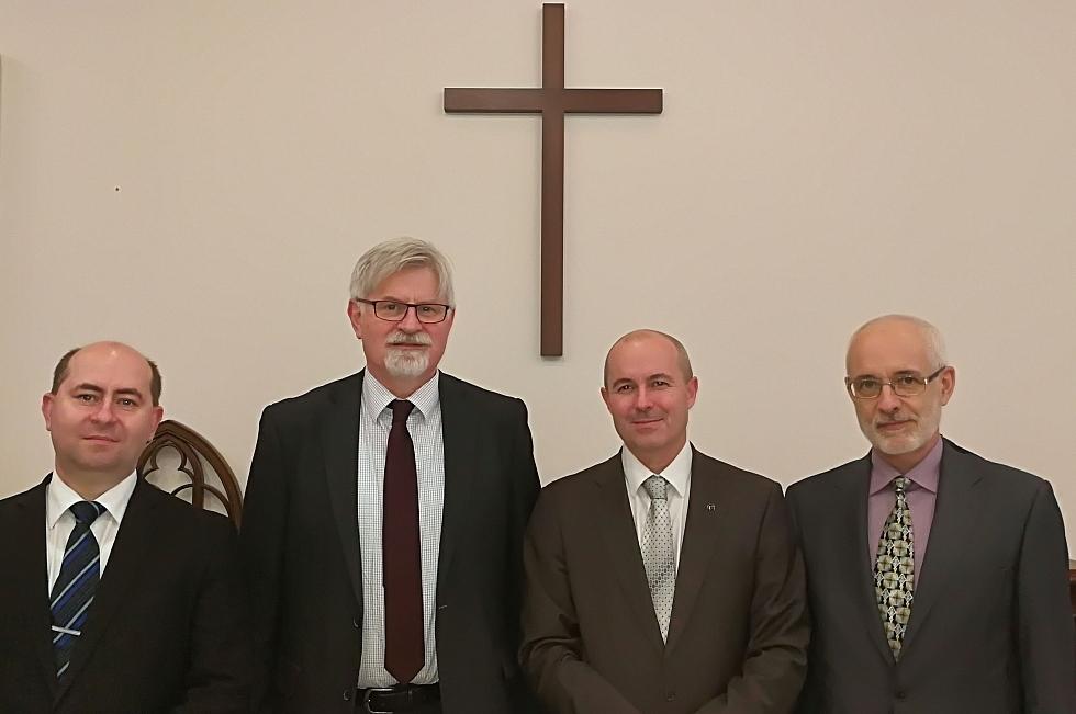 Ekumenická rada církví zvolila nové předsednictvo
