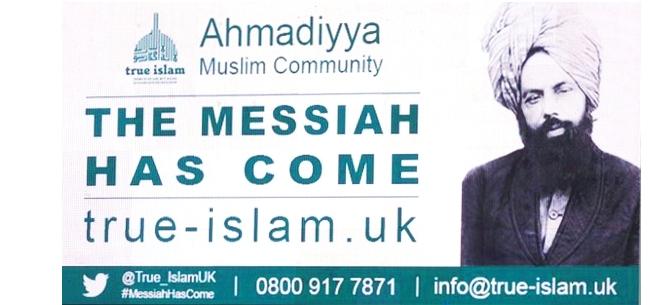 """Kampaň se sloganem """"Mesiáš už přišel"""" vzbudila ve Velké Británii kontroverze"""