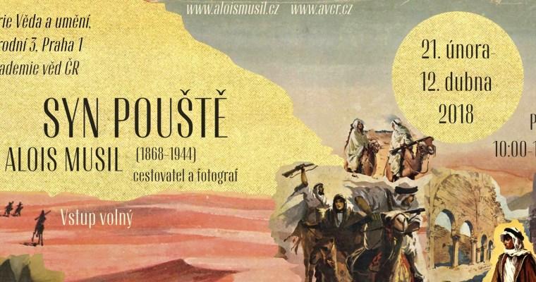 """""""Syn pouště"""": zítra začíná výstava fotografií orientalisty Aloise Musila"""