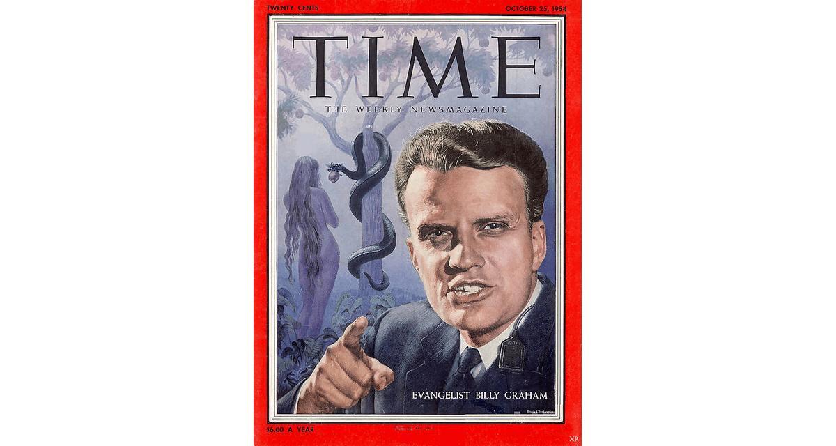 Billy Graham vUSA mezi top ten nejváženějších mužů – více než šedesátkrát