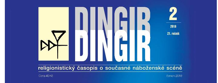 Návrat knáboženským komunitám: Právě vyšel nový Dingir