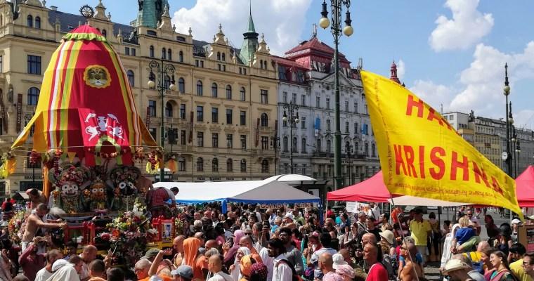 Festival Ratha Játrá vPraze