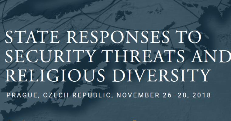 Mezinárodní konference onáboženství abezpečnostních rizicích