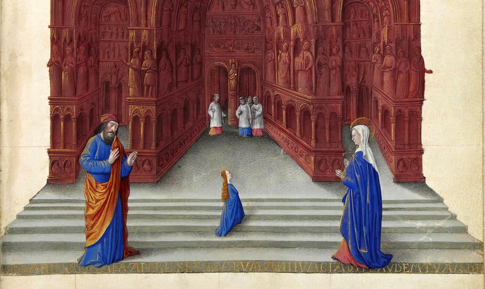 Kalendář: Zasvěcení Panny Marie