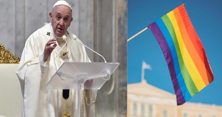 Papežovo přelomové vyjádření khomosexuálnímu partnerství