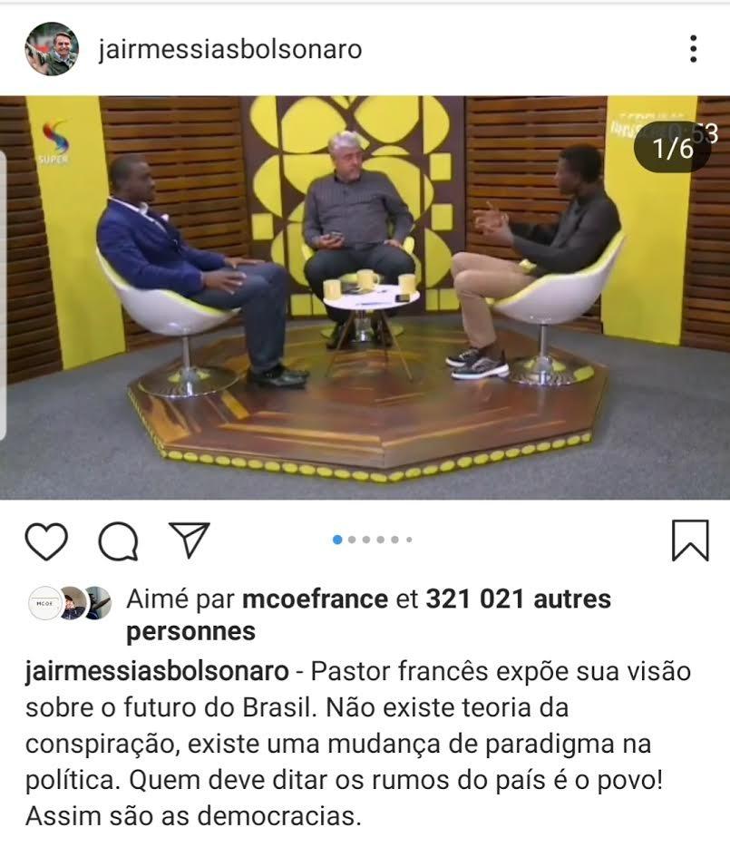 L'apôtre Steve Kunda à la une dans les médias brésiliens