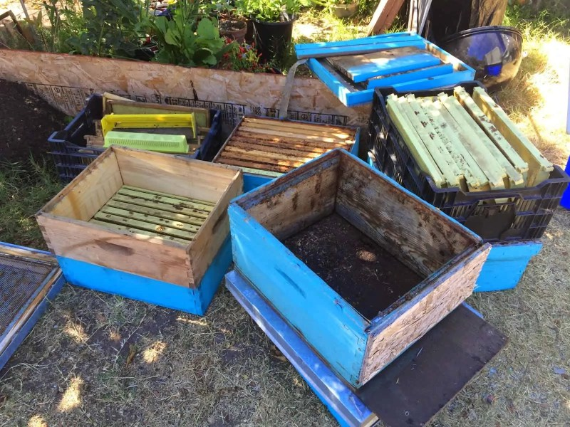 Bee Hives Prepared and Repaired