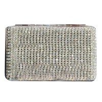 Leather Rhinestone Cigarette Case Women Cigarette Holder ...