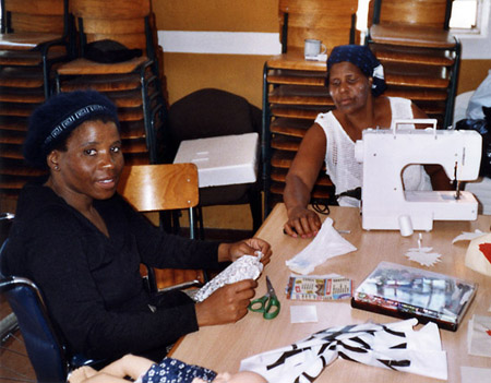 Sewing project in Philippi (Capetown, South Africa)