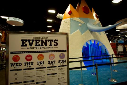The Cartoon Network Adventure Time Booth