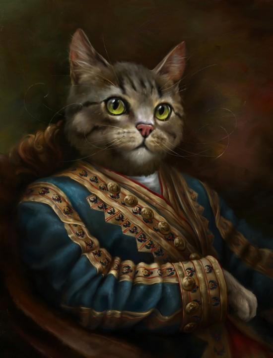 冬宮法院先驅者貓